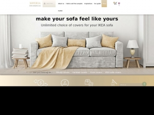 Change the look of your sofa